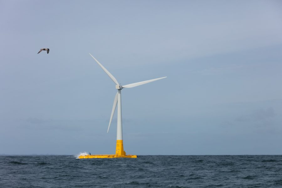 Floatgen: France's first floating wind turbine goes into action