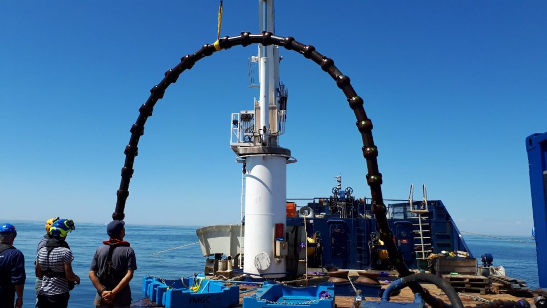 FORESEA 3rd sea trial takes place at SEM-REV offshore test site