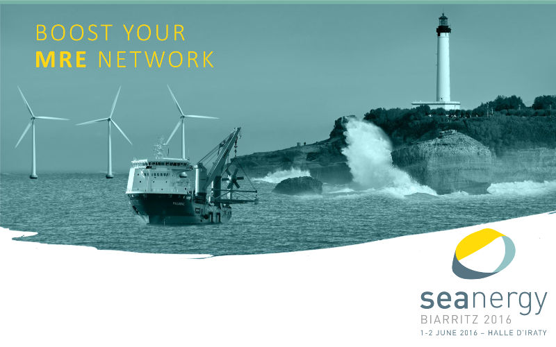 Seanergy, a marine renewables conference to boost international cooperation
