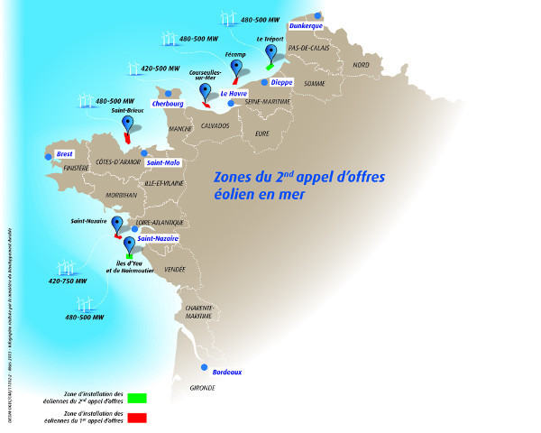 Carte du second appel d
