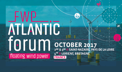 FWP Atlantic Forum 2017: at the heart of Floating Wind Power challenges