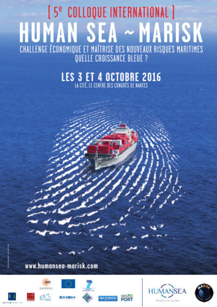 Nantes: Human Sea – Marisk, maritime security international meeting