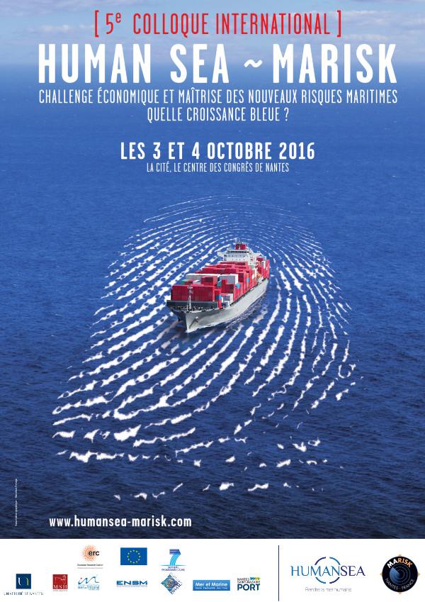 Nantes: Human Sea – Marisk, maritime security international meeting