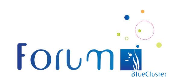 Logo of Forum Blue Cluster 2014